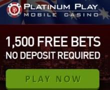 Platinum Play Casino free spins