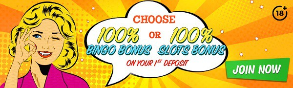 Bingo Extra Casino 100% welcome bonus and free spins