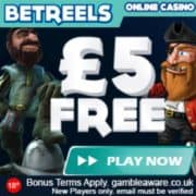 BetReels Casino free spins