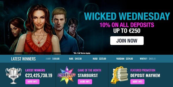 Wicked Wednesday Offers