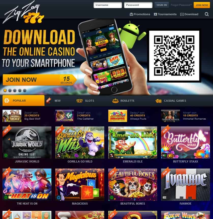 Play Online Slots & Free Play Games