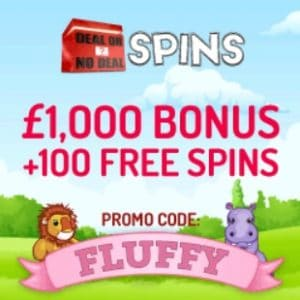 Deal or No Deal Spins | £1000 bonus & 100 free spins | As seen in TV!