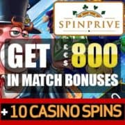 Spinprive Casino free spins