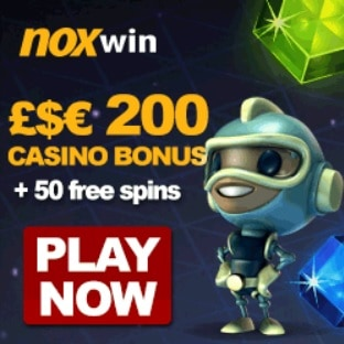 Noxwin Casino 50 free spins and €200 free bonus (SCAM!)