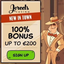 JoReels Casino | €200 gratis bonus + 50 free spins | online & mobile