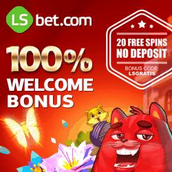LSbet Casino (Review) - free spins, free money, no deposit bonus