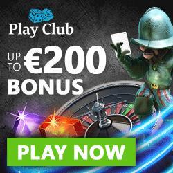 Play Club Casino €200 gratis bonus & 100 free spins - free play slots!