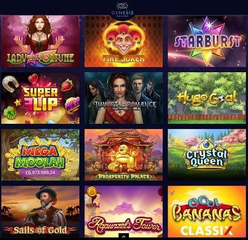 Genesis Casino Online & Mobile free bonus