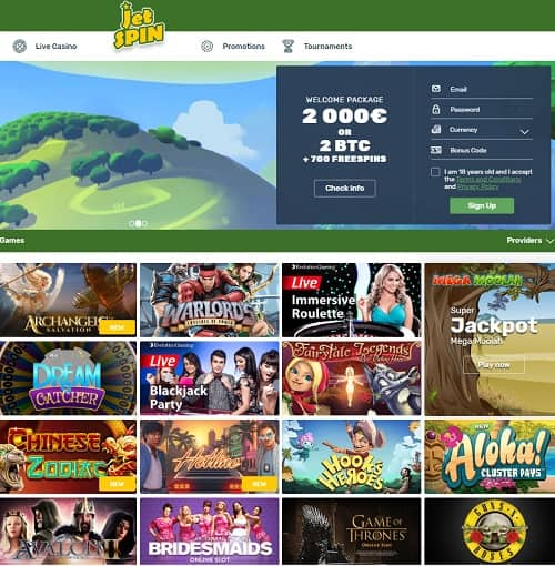 Casino JetSpin Review