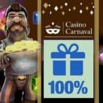 Casino Carnaval 225% up to $600 exclusive bonus + Free Spins Promo