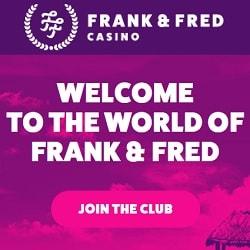 FrankFred.com 100 gratis spins no deposit + €300 free bonus