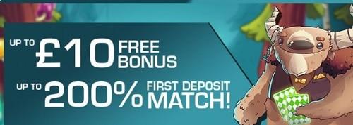 Pocket Win Casino welcome bonus