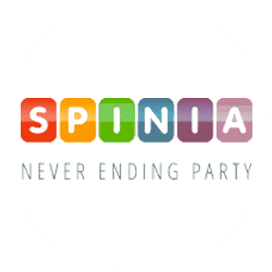 SPINIA (Bitcoin Casino) - 125 free spins and €/$1,250 bonus
