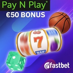 Fastbet Casino Bank ID (no registration) - Pay and Play via Trustly