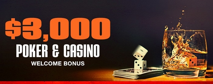 $3000 welcome bonus