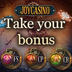 JoyCasino.com 200 free spins and $1000 welcome bonus
