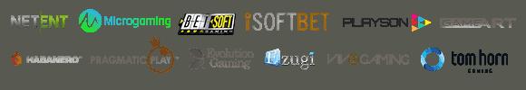 Casollo Casino games and software providers