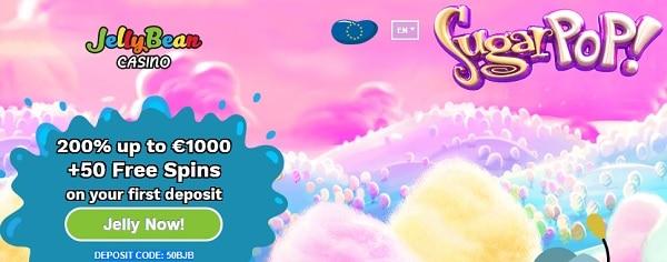 Jelly Bean Casino free spins bonus