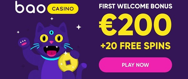 200 EUR and 20 free spins for new players
