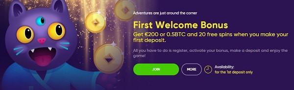 Exclusive Welcome Bonus for Boa Casino players