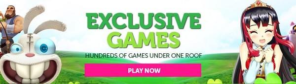 CasinoLuck.com exclusive games