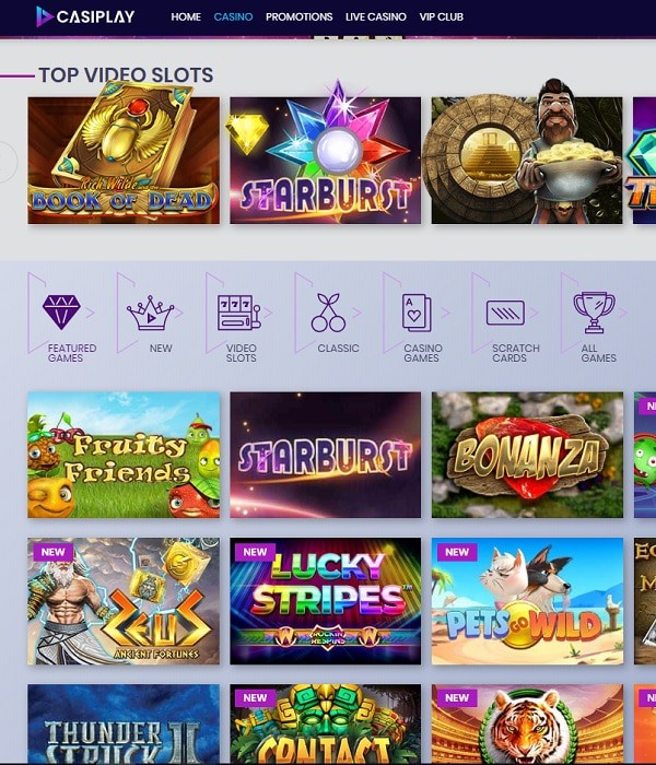 Casiplay Casino reviews