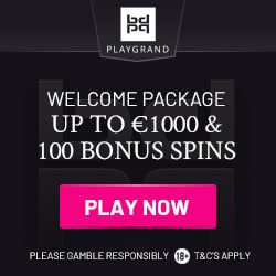 PlayGrand Casino [register & login] €1000 bonus + 100 gratis spins