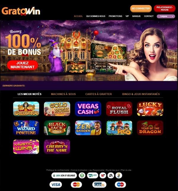 Grato Win Casino Review