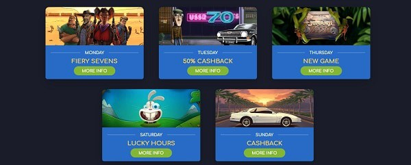 Wild Tornado Casino Bonuses