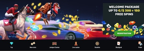 300 EUR and 150 Free Spins up for grabs