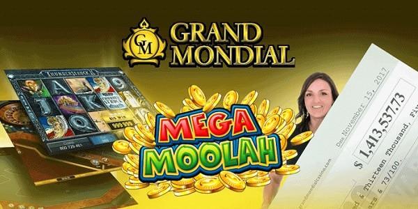 Mega Moolah at Grand Mondial