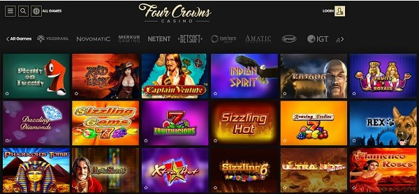 Exclusive Games and 3D Slots