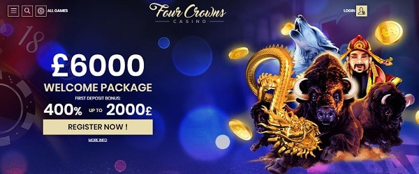 4 Crowns free spins bonus