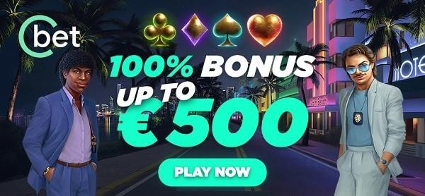 Cbet.gg 500 eur free bonus