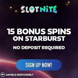 15 free spins no deposit bonus on Starburst (exclusive promotion)
