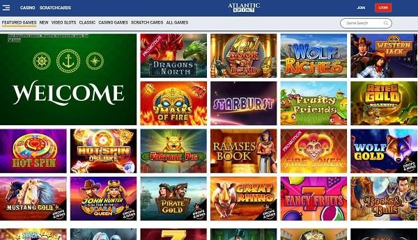 Atlantic Spins Casino free spins bonus (review)