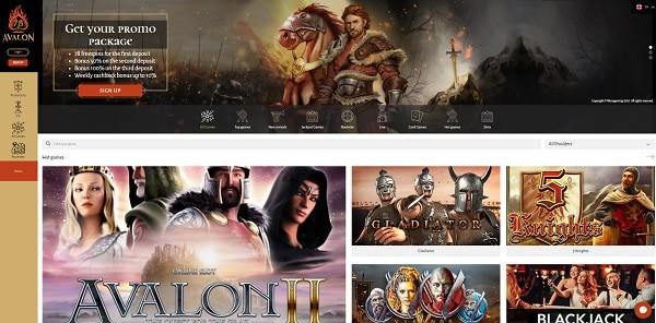 Avalon78 Casino free bonus, gratis spins, games, support, deposit, cashout