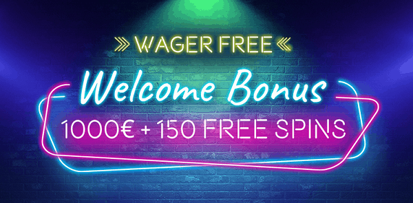 1000 EUR and 150 Free Spins