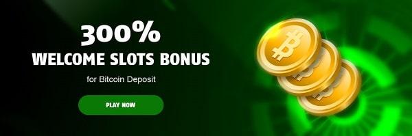 300% bonus on BTC deposit