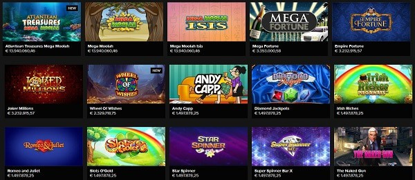 Jackpot Games and Slot Machines
