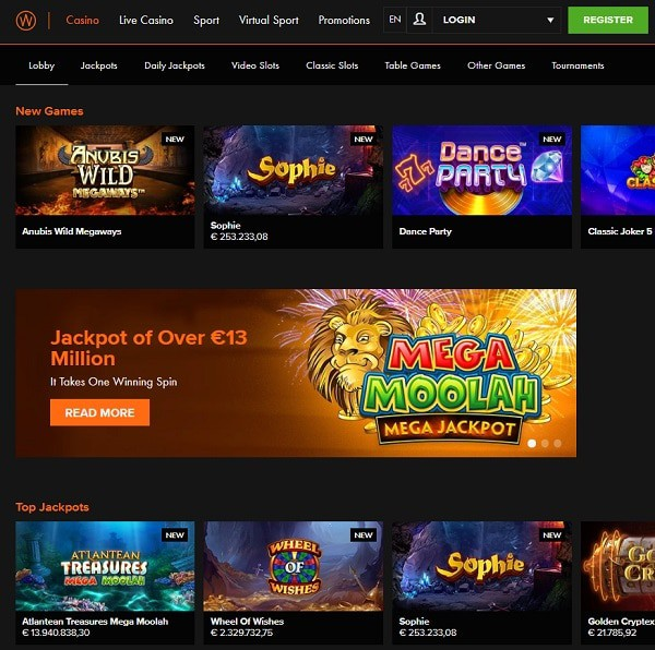 Casino Winner free spins, no deposit bonus, promotion, free bet, review