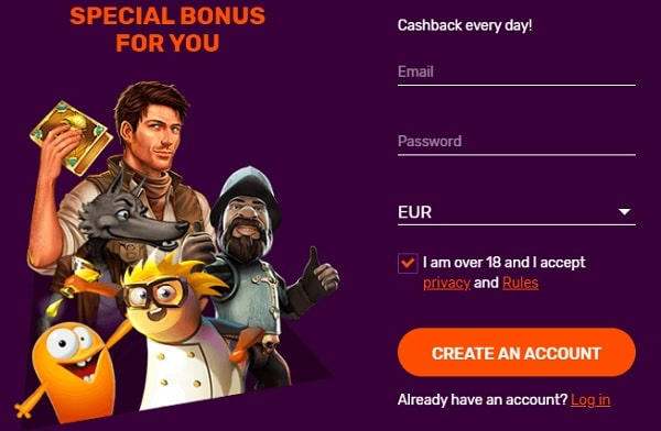 Sign Up Bonus No Deposit Needed
