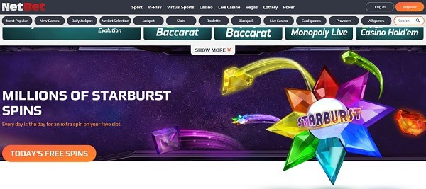 Play Free Spins without deposit!