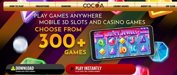 300+ Slots and Table Games