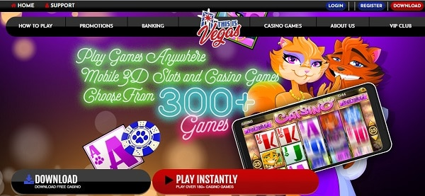 Games and Software Partners for the casino