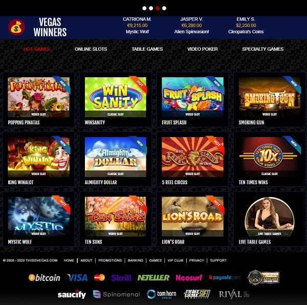 This Is Vegas RIVAL Casino Review