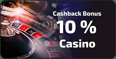 10% Cashback BetChaser