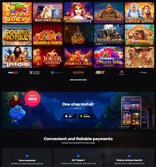 Casinomia.com Free Spins Bonus