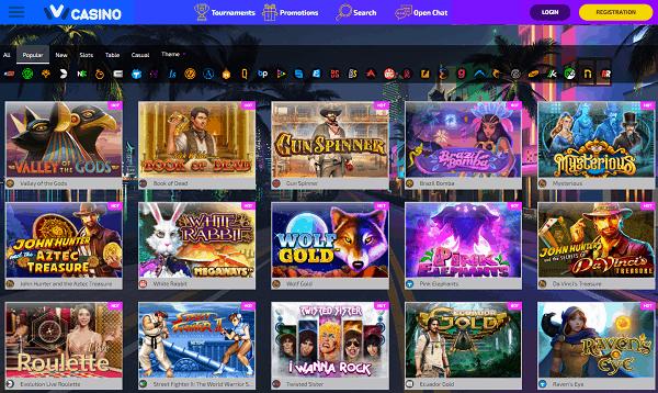 Play slots online!