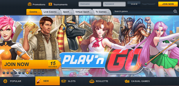 Register, Log-In and Play